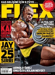 kai Greene on Flex mag 2013